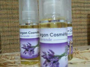 lotions d'argan cosmétique  à la lavande