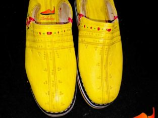 idoukan jaune ( البلغة باللون الأصفر )