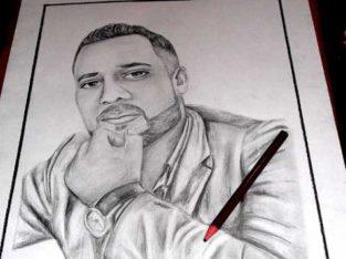 رسم البورتري_Portrait رسام صور الأشخاص Dessin