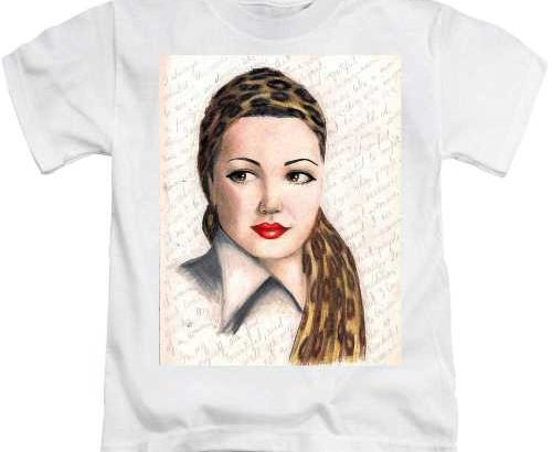 رسم على تيشرت_T-shirt  portrait بورتري Dessin