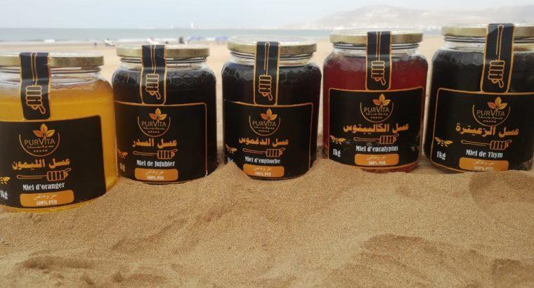 عسل حر وطبيعي